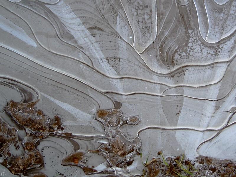 Eis-Muster